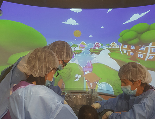 Clinically proven: Cobra immersive visuals relieve pain & anxiety