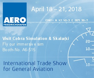 Cobra Simulation and Skalarki to showcase immersive dome capability at Aero 2018